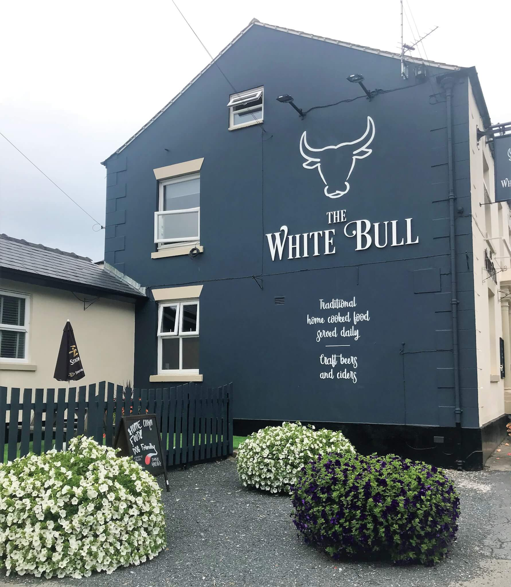 White Bull 7 after