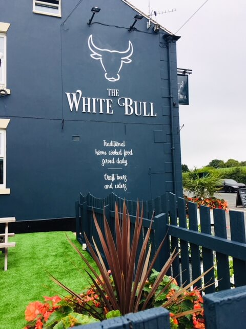 White Bull 8 after