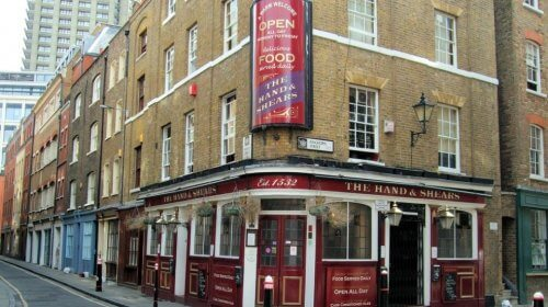 The Hand and Shears, London