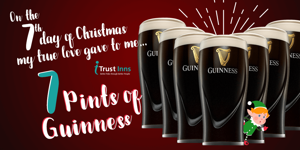 12 days of christmas campaign - guinness trust inns