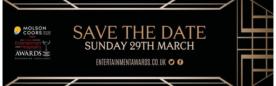 Save the date scottish hospitality awards
