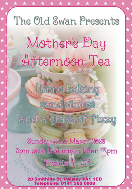 old swan tea dance for mothers day